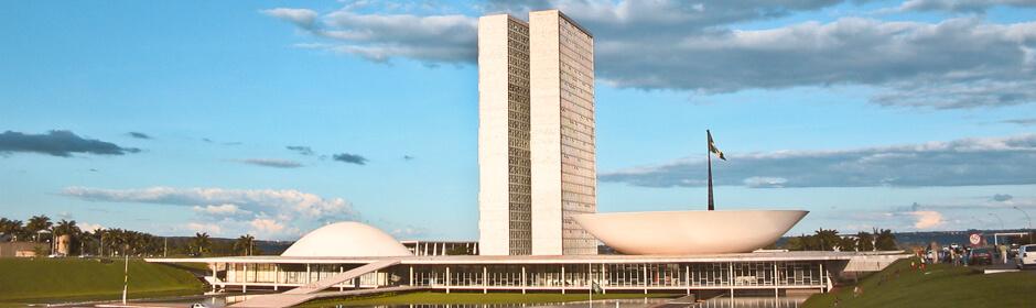 FOTO: imagem do do Congresso Nacional em Brasília.