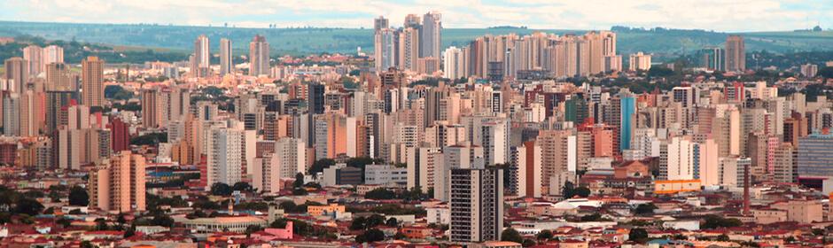 FOTO: imagem panorâmica da cidade Ribeirao Preto